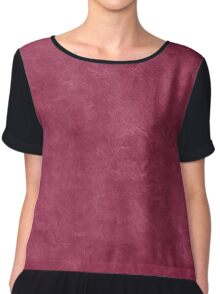 Anemone Oil  Pastel Color Accent Chiffon Top