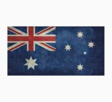 The National flag of Australia, retro textured version (authentic scale 1:2) Baby Tee