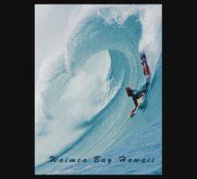 Waimea Big Wave Boogie T-Shirt One Piece - Long Sleeve