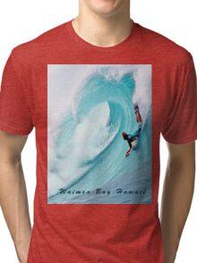 Waimea Big Wave Boogie T-Shirt Tri-blend T-Shirt