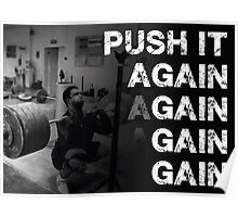 Push and Gain Poster