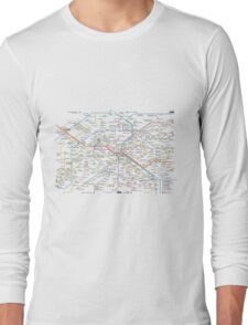 Paris Subway 2016 Long Sleeve T-Shirt