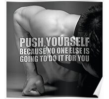 Push Yourself Poster