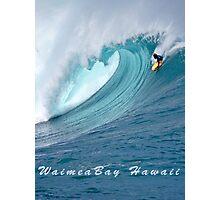 Waimea Bodyboarder T-Shirt Photographic Print