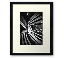 Groovey Garage Framed Print