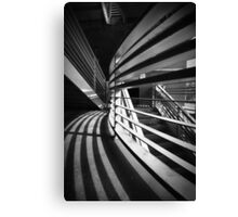 Groovey Garage Canvas Print