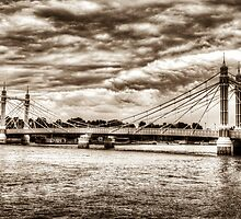 The Albert Bridge London by DavidHornchurch