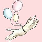 Kitten With Balloons - I'm Not Kitten Around by CatAstrophe