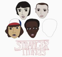 Stranger Things Crew Kids Tee