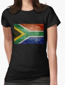 National flag of the Republic of South Africa Womens Fitted T-Shirt