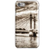 The Albert Bridge London iPhone Case/Skin