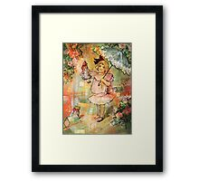 FUN WITH DOLLY Framed Print