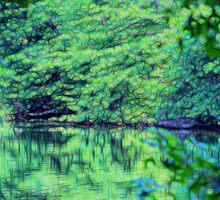 Green Serenity Sticker