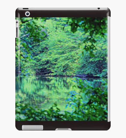 Green Serenity iPad Case/Skin