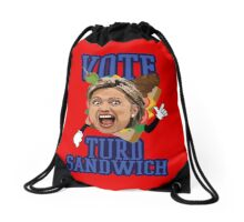 Vote Turd Sandwich! Hillary Clinton (SOUTH PARK) Drawstring Bag