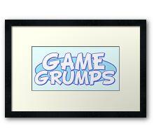 Game Grumps - Logo Framed Print