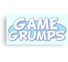 Game Grumps - Logo Canvas Print