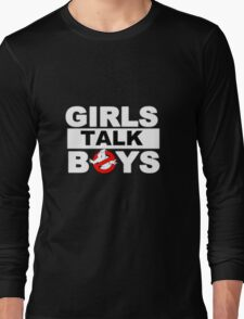✦ girls talk boys ✦ *5sos* Long Sleeve T-Shirt