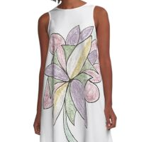 Carnivaled Flowers (a Bouquet of Pastel Colours) A-Line Dress