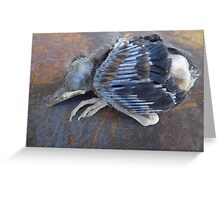 One bird escape from the Zoo of Death Greeting Card