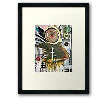 bruxa and tree shaman Framed Print