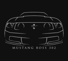 Ford Mustang Boss 302 One Piece - Short Sleeve