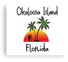 Okaloosa Island Florida. Canvas Print