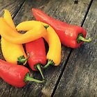 Sweet Peppers by Caroline Fournier