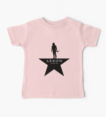 a star and oliver Baby Tee