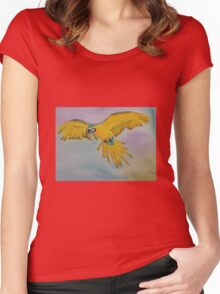 In Flight Women's Fitted Scoop T-Shirt