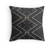 PATTERNATION|GREY TRIANGLES| RB EXCLUSIVE Throw Pillow