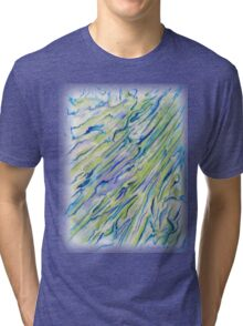 Raine Color Wash Tri-blend T-Shirt