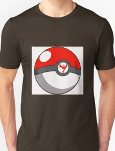 Valor Pokeball  Unisex T-Shirt