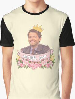Supernatural - Cas/Misha Graphic T-Shirt