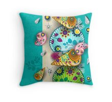 Shellin Throw Pillow