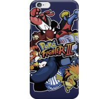Poke Fighter II iPhone Case/Skin
