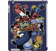 Poke Fighter II iPad Case/Skin