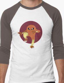 Hitmonlee - Basic Men's Baseball ¾ T-Shirt