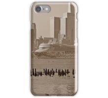 Cruise Ship Norwegian Gem on the Hudson River. iPhone Case/Skin