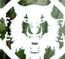 HollowSquad White Forest Sticker