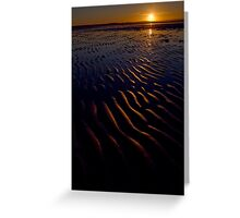 Bunbeg Beach, County Donegal, Ireland Greeting Card