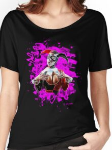 Harlequin Psychedelic - pink Women's Relaxed Fit T-Shirt