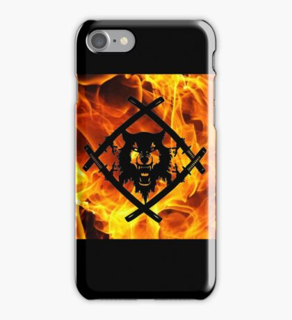 HollowSquad Black Flame iPhone Case/Skin