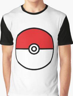 POKEMON GO POKEBOLA Graphic T-Shirt