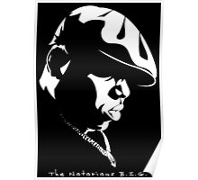 The Notorious B.I.G. Stencil Poster