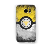Bad ASH Team Instinct Pokemon Go Case - Galaxy Cases Yellow Edition Samsung Galaxy Case/Skin