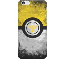 Bad ASH Team Instinct Pokemon Go Case - iPhone Cases Yellow Edition iPhone Case/Skin