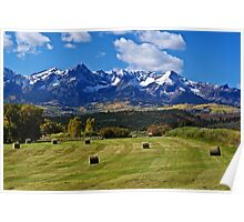 Hay With A View Poster