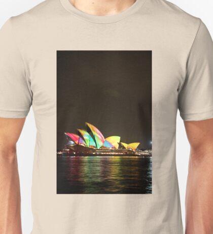 Rainbow sails Unisex T-Shirt