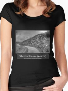 Summer trip to Tyrol, Austria Women's Fitted Scoop T-Shirt